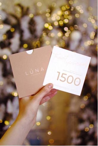Подарунковий сертифікат на суму 1500 гривень